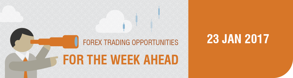 Forex Trading Opportunities for the Week Ahead 23 Jan 2017