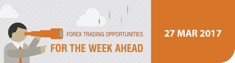 Forex Trading Opportunities for the Week Ahead 27 Mar 17