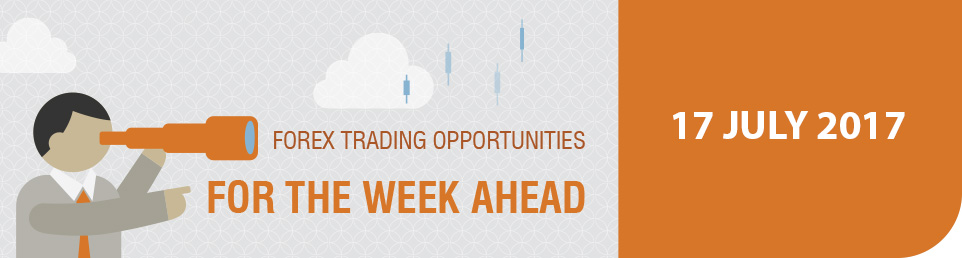 Forex Trading Opportunities for the Week Ahead 17 July 17